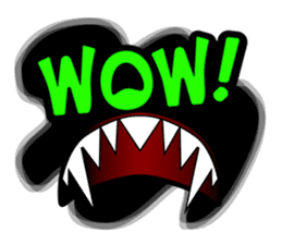 Aroma Monster (party) sticker #12871598