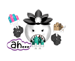 Aroma Monster (party) sticker #12871608