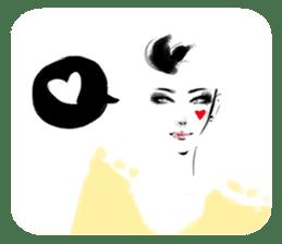 Han Style girls sticker #12872724