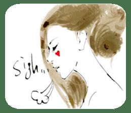Han Style girls sticker #12872734