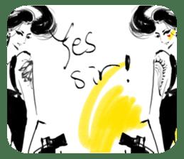 Han Style girls sticker #12872745
