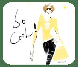 Han Style girls sticker #12872748