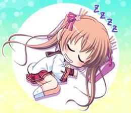 """Senmomo Character""LINE Sticker sticker #12879976"