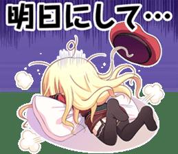 """Senmomo Character""LINE Sticker sticker #12879979"