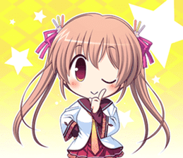 """Senmomo Character""LINE Sticker sticker #12879992"