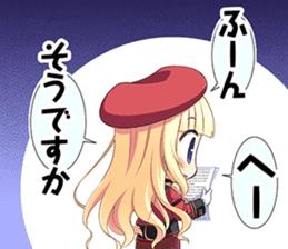 """Senmomo Character""LINE Sticker sticker #12879993"