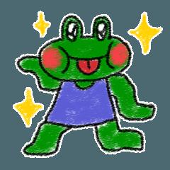 Lovely Frog Sticker