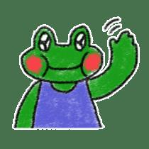 Lovely Frog Sticker sticker #12880142