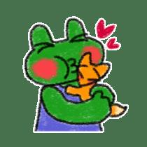 Lovely Frog Sticker sticker #12880145