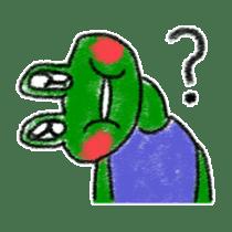 Lovely Frog Sticker sticker #12880146