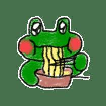 Lovely Frog Sticker sticker #12880157