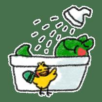Lovely Frog Sticker sticker #12880165