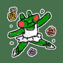 Lovely Frog Sticker sticker #12880170