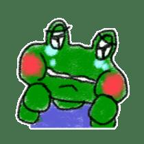Lovely Frog Sticker sticker #12880171