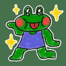 Lovely Frog Sticker sticker #12880174