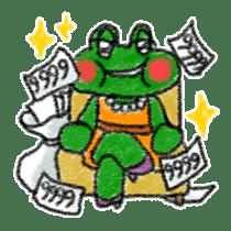 Lovely Frog Sticker sticker #12880175