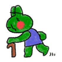 Lovely Frog Sticker sticker #12880177