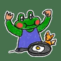 Lovely Frog Sticker sticker #12880180
