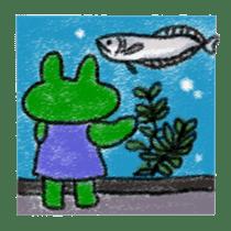 Lovely Frog Sticker sticker #12880181