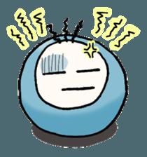 Little Facial Expression Mr. Vivalon sticker #12882245