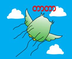Little Owl of Myanmar sticker #12883688