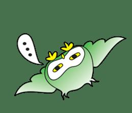 Little Owl of Myanmar sticker #12883690