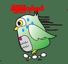 Little Owl of Myanmar sticker #12883698