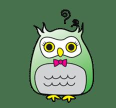 Little Owl of Myanmar sticker #12883700