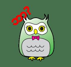 Little Owl of Myanmar sticker #12883701