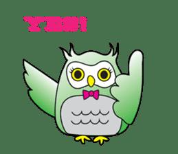 Little Owl of Myanmar sticker #12883702
