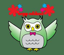 Little Owl of Myanmar sticker #12883707