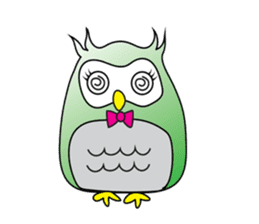 Little Owl of Myanmar sticker #12883713