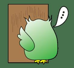 Little Owl of Myanmar sticker #12883715