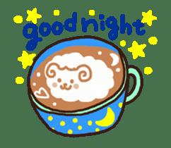 Hot cappuccino sticker3 sticker #12883953