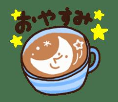 Hot cappuccino sticker3 sticker #12883954