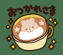 Hot cappuccino sticker3 sticker #12883955