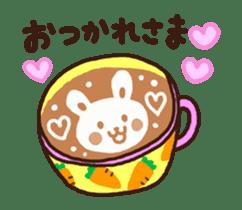 Hot cappuccino sticker3 sticker #12883956