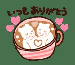 Hot cappuccino sticker3 sticker #12883957