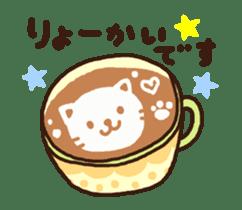 Hot cappuccino sticker3 sticker #12883960
