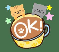 Hot cappuccino sticker3 sticker #12883961