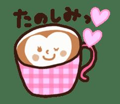 Hot cappuccino sticker3 sticker #12883963