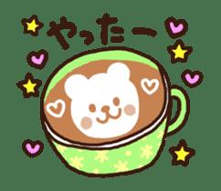 Hot cappuccino sticker3 sticker #12883968