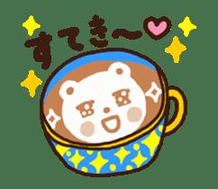 Hot cappuccino sticker3 sticker #12883971