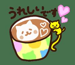 Hot cappuccino sticker3 sticker #12883972