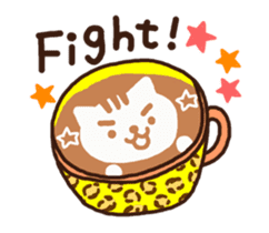 Hot cappuccino sticker3 sticker #12883973