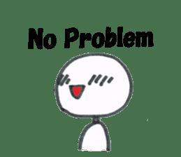 NoProblem sticker #12887127