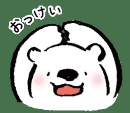 shirokumaza sticker #12887888