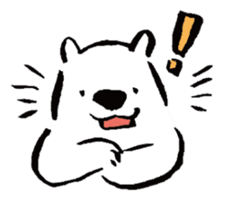 shirokumaza sticker #12887891