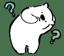 shirokumaza sticker #12887892
