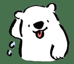 shirokumaza sticker #12887893
